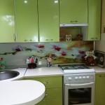 Зеленая кухня под заказ в Дзержинске