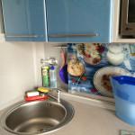 фартук кухни - стекло
