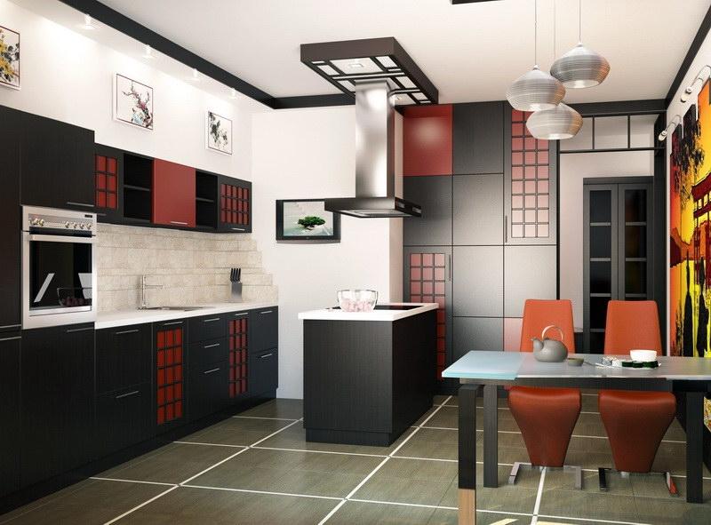 Стильные кухни из пластика - фото и цены - Рубикон-М